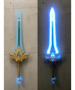 Genshin Impact Diluc Claymore Lightable Skyward Pride Cosplay Prop - $270.00