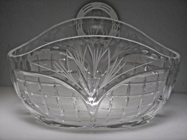 Vintage Russian Lead Crystal- Candy/Nut Serving Display Dish Bowl Mint - $43.66