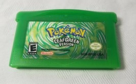 GBA Leaf Green Pokemon Version (Nintendo Game Boy Advance, 2004) Authent... - $37.39