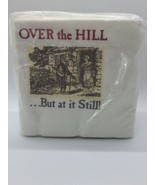 """Vintage 1986 New/Old Over the Hill Napkins 50 Count Birthday Party 10"""" - $3.99"""