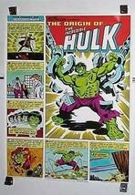 1980 Incredible Hulk 28x22 Coca Cola Coke Marvel Comics promo poster 1: Avengers - $124.99
