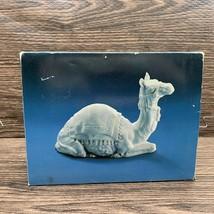Vintage Nativity Collectibles Avon 1984 The Camel White Porcelain Figure  - $19.99