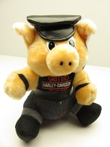 """Harley-Davidson Motorcycles NEW OLD STOCK WITH TAGS 9"""" Tall Plush Hog 1993 - $39.55"""