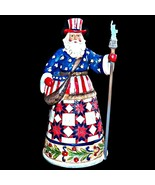 Jim Shore Heartwood Creek Perfectly Festive in All Fifty States American... - $39.99