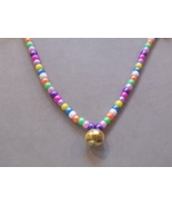 JELLY BEANS ~ HORSE RHYTHM BEADS ~ Pearl Pastels ~ Size 54 Inches - $17.00
