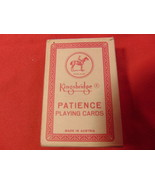Miniature Playing Cards from Piatnik, of Austria. Sealed, with US Reven... - $14.99