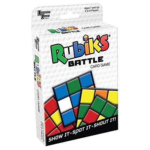 University Games Rubik's Battle Card Game (Tuck Box) - $5.77