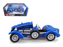 1934 Bugatti Type 59 Blue 1/18 Diecast Model Car by Bburago - $56.74