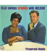Ella Fitzgerald - Ella Swings Brightly With Nelson - Audio CD - $25.69
