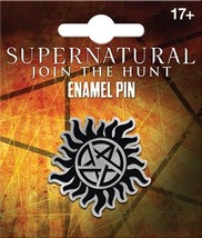 Supernatural TV Series Anti Possession Logo Licensed Metal Enamel Pin NE... - $7.84