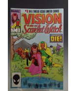 Vision and the Scarlet Witch (1985) #3 - $5.95