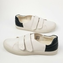 Nine West Oleandro Hook Strap Fashion Sneakers 303, Off White/Black, 8 US  - $44.61