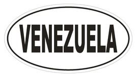 VENEZUELA Oval Bumper Sticker or Helmet Sticker D2160 Euro Oval Country Code - $1.39+
