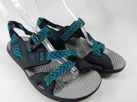 Keen Maupin Sports Sandals Men's Size US 9 M (D) EU 42 Black / Imperial Blue