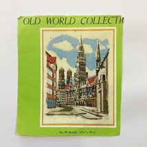 Vintage Schurer Embroidery Kit Munich Germany Bavaria Old World Collection - $19.30