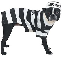 Casual Canine Prison Pooch Costume, Large - $29.47