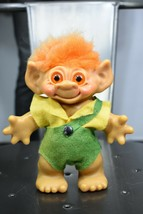 "vintage Dam 60's worker troll doll 7"" made in Denmark coin bank - $25.00"
