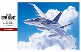 F/A-18E Super Hornet US Navy Fighter/Attacker 1/48 Hasegawa - $64.00