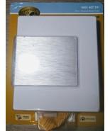 Hampton Bay Wireless Door Bell Chime White Brush Nickel Accent 85 dB 16 ... - $17.79