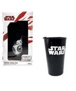 "Disney Star Wars BB-8  6"" Ceramic Travel Mug With Sliding Plastic Lid Black - $19.79"