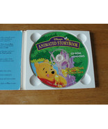 Animated Story Book Winnie The Pooh And The Honey Tree CD - $3.36