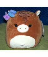 """Squishmallows TOMAR the Brown Horse 7.5""""H NWT - $15.88"""