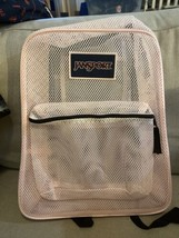 JanSport  Authentic  Pink Mesh  Backpack New With Tags - $13.39