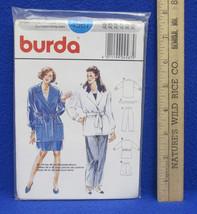 Burda Womens Belted Jacket Coat Pants & Short Patterns # 4567 Size 12-22... - $8.90