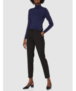 $120.00 A X Armani Exchange Women's Ankle Trousers, Black, 0 - $59.39