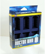 Doctor Who BBC Licensed Ice Cube Tray Chocolate Mold Tardis Dalek Food Safe - $25.95