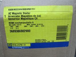 Square D AC Magnetic Starter 8536SBG1V02CE3210F4G105G5610P68X11Y217 New image 3