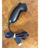 Nintendo Wii Black Nunchuck Controller (RVL-004) Official Genuine OEM - ... - $13.95