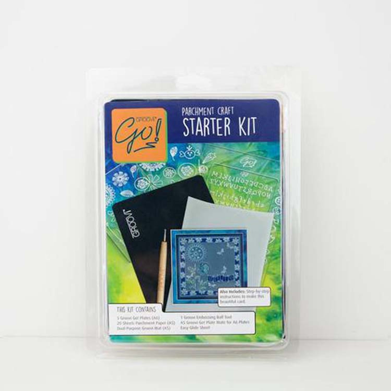 Groovi Go! Starter Kit by Clarity Stamp, GRO40765 ~ New!