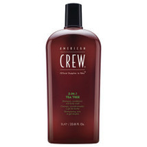 American Crew 3-in-1 Tea Tree 1lt (6 Pack) - $95.04