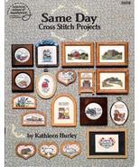 1 Vintage 1987 American School Same Day Cross Stitch Projects Leaflet Vi... - $7.89