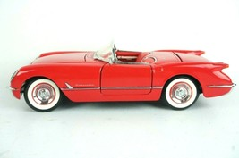 Franklin Mint 1/24 Scale 1954 Corvette Red Convertible - $46.72