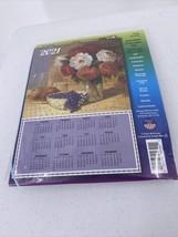 Grapes Roses Jeweled Calendar Kit Design Works 2021 Sealed #4394 - $9.49