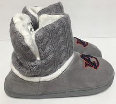 Auburn University Fur Knit Boots AU Logo Women's Many Sizes image 4