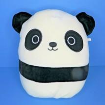 "Squishmallows Stanley Panda 8"" Plush Black White Stuffed Animal Pillow Kellytoy - $19.95"