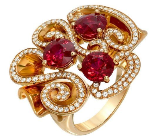 925 Sterling Silver Natural A+ Quality Garnet And Cz Gemstones 22k Gold Plated A