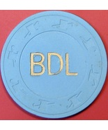 $1 Vintage Casino Chip. BDL(Brandy's Card Room), Bakersfield, CA. 1983. Q47. - $5.99