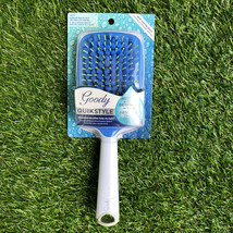 Goody QuickStyle Paddle Hair Brush Microfiber Brush Absorbs and Detangle... - $9.89
