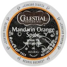 Celestial Seasonings Mandarin Orange Spice Herbal Tea, 96 K cups FREE SHIPPING! - $64.99