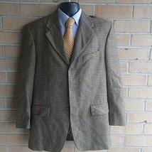 Mens 40R Ralph LaurenBlue Label 100% wool Jacket Blazer Sport Coat 3 button - $27.72