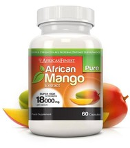 Africa's Finest Pure African Mango 18,000mg 60 Capsules - $38.99