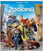 Disney Zootopia (2016) [Blu-ray + DVD]