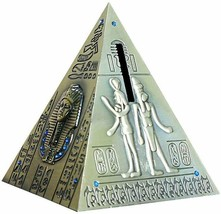 "Pyramid Coin Bank 5"" High Made of Iron - $29.00"