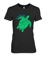 Green Sea Turtle Hawaiian Honu Wisdom TShirt - $19.99