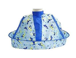 1PCS Child Kid Hair Cutting Cape Baby Styling Salon Waterproof Cloak, Blue