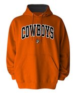 NCAA Men's Oklahoma State Cowboys Hooded Sweatshirt Hoodie Orange - $27.95